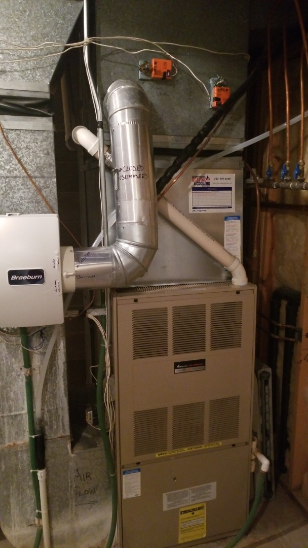 Minnetonka, MN - Repairing water leak coming from furnace in Minnetonka Minnesota