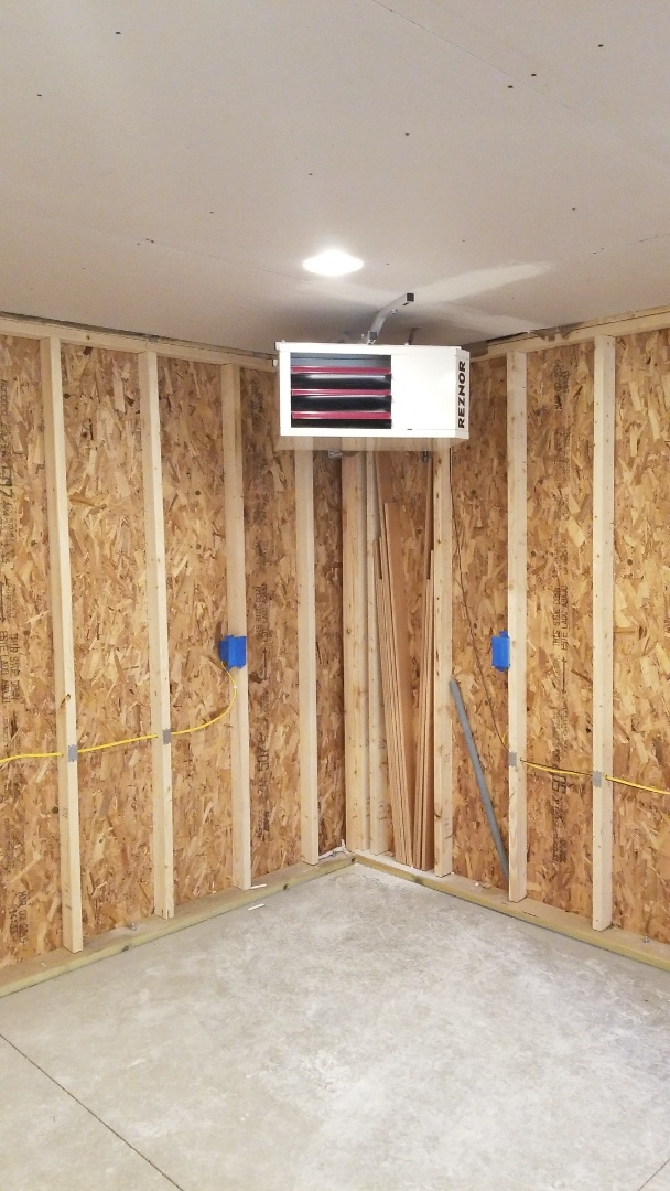 Minneapolis, MN - Installing garage heater in Bloomington Minnesota