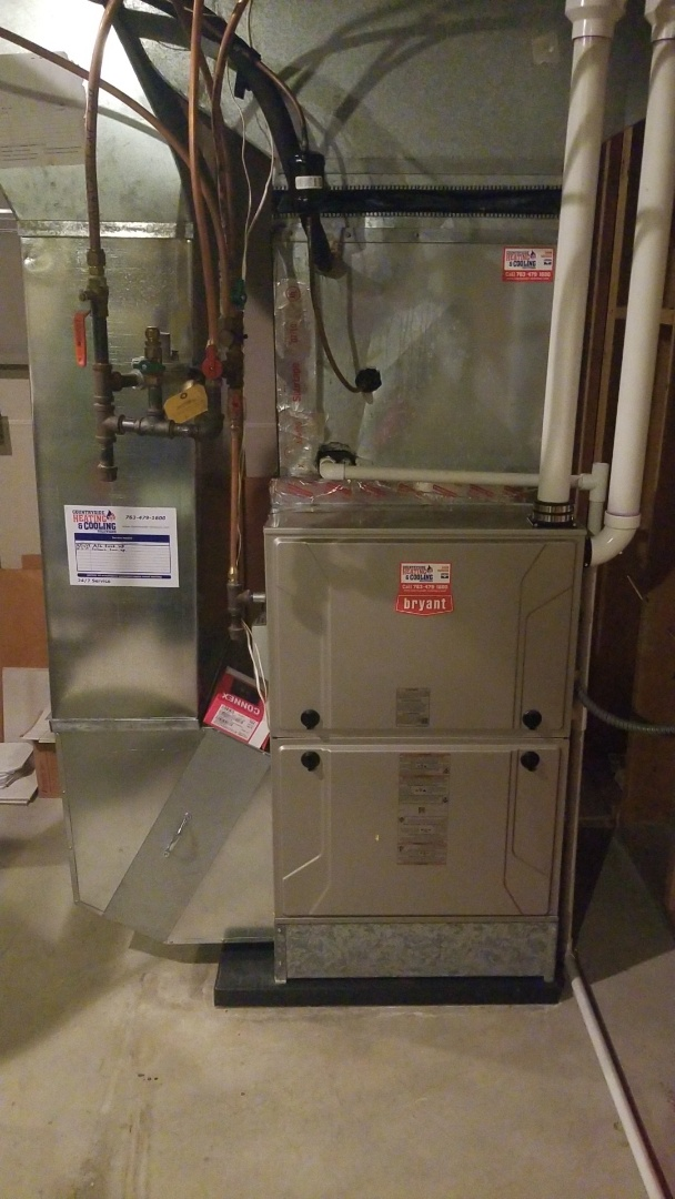 Orono, MN - Performed furnace tune-up in Orono Minnesota