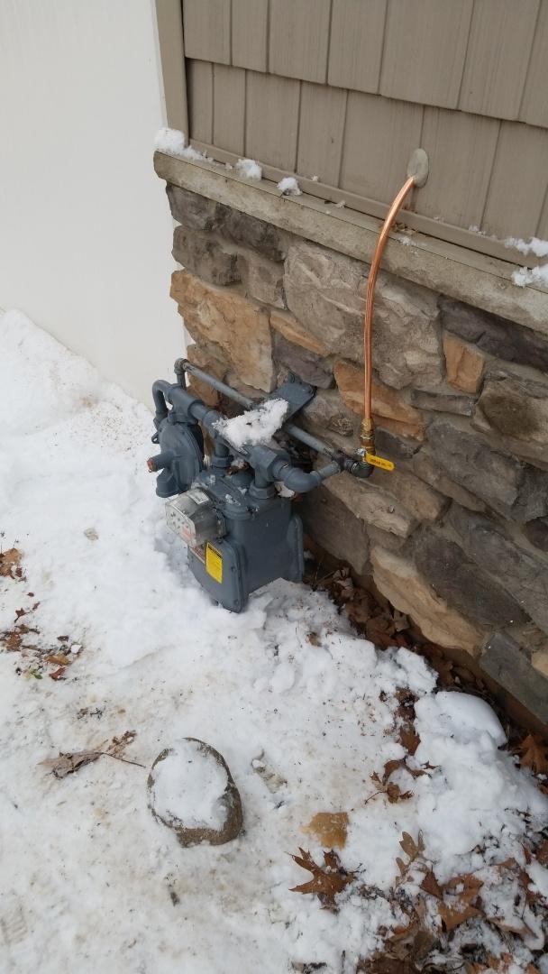 Minnetrista, MN - Running gas line to garage heater in Mound Minnesota