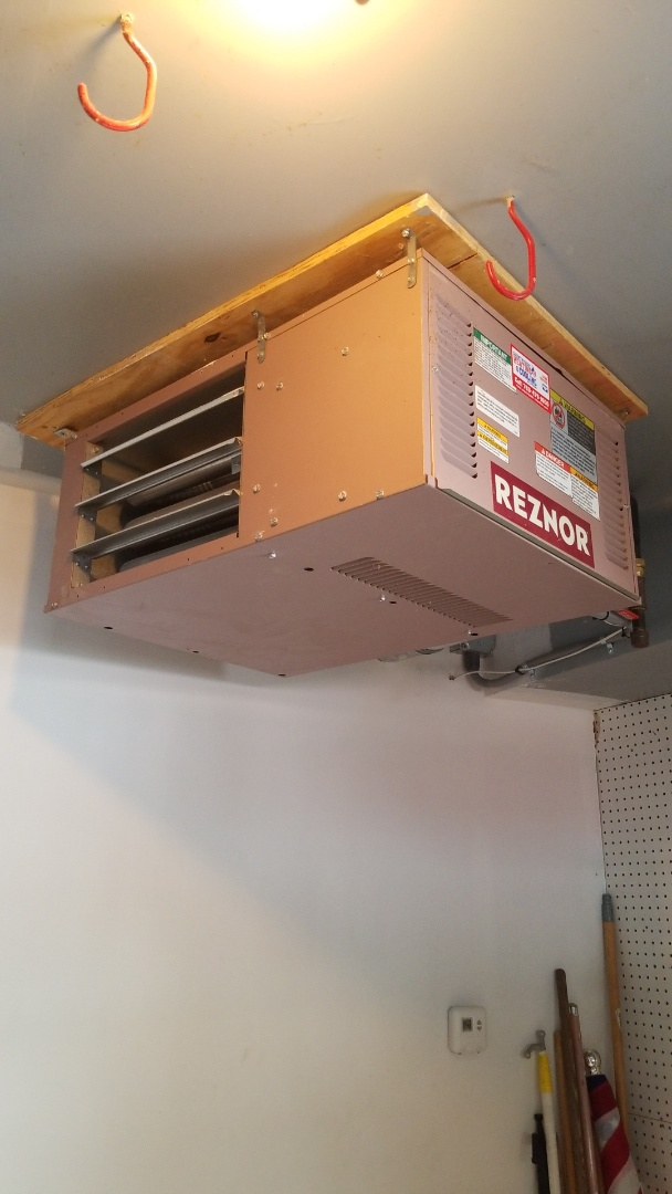 Wayzata, MN - Repairing garage heater in Orono Minnesota