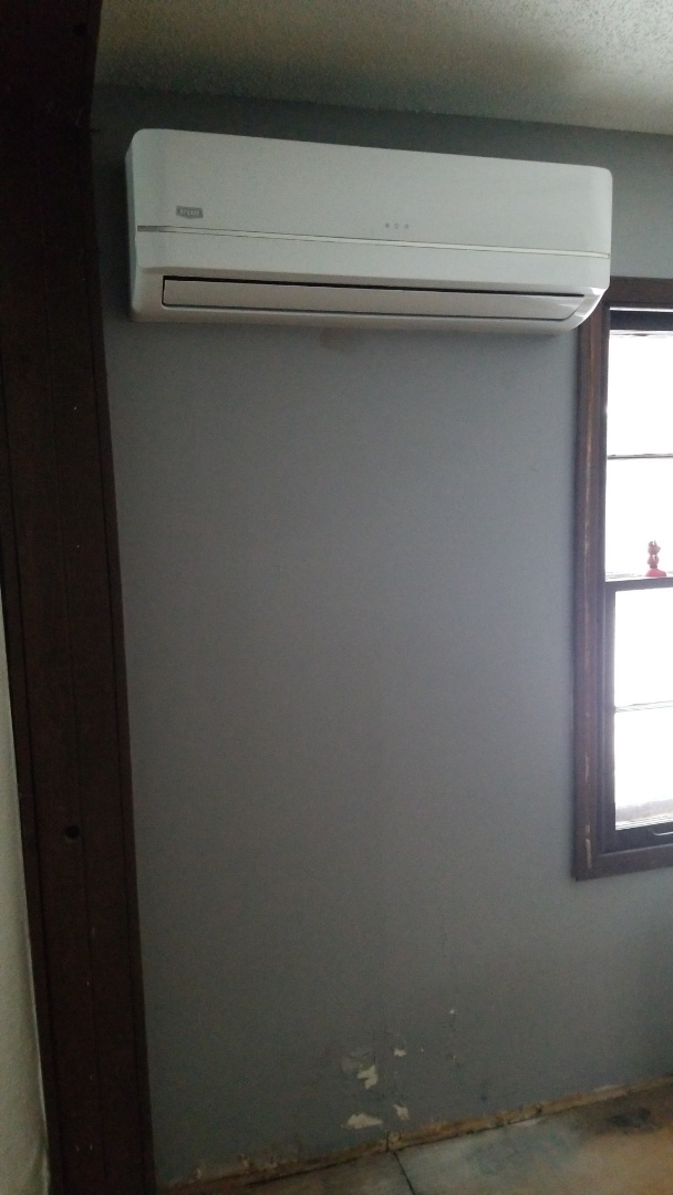 Installing ductless system in Navarre Minnesota