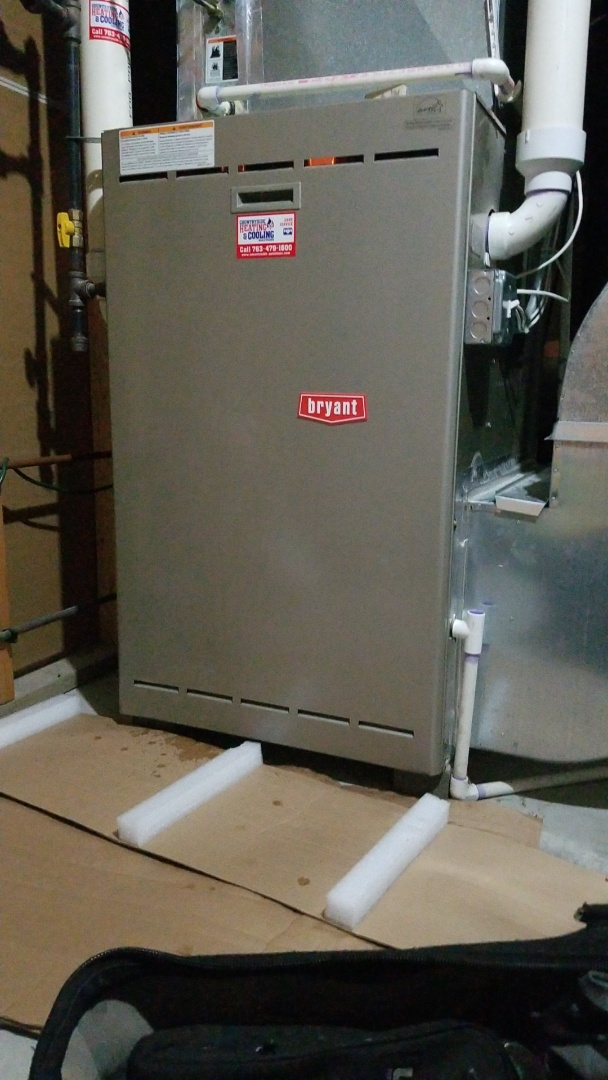 Osseo, MN - Repairing Bryant furnace in Maple Grove Minnesota