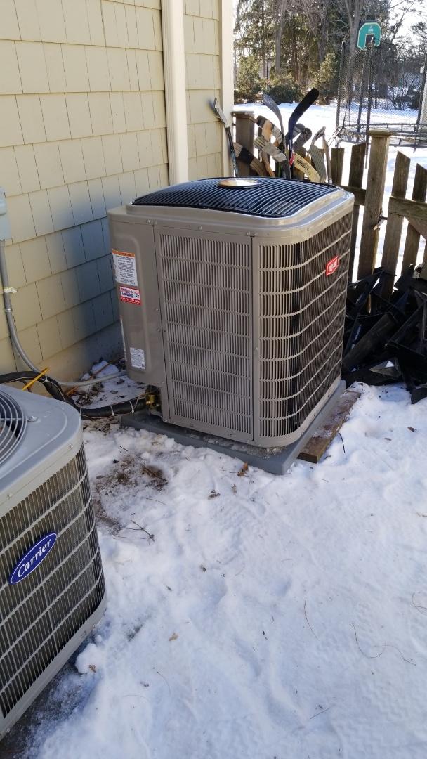 Wayzata, MN - Installing Bryant furnace and AC in Wayzata Minnesota