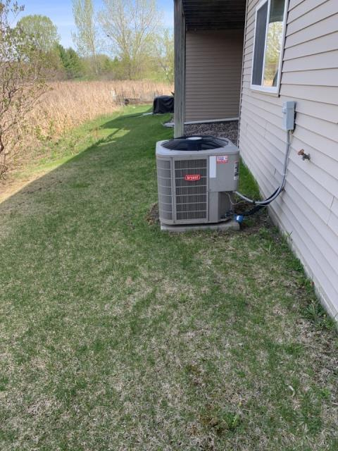 Wayzata, MN - Performed a AC maintenance in Minnetonka beach MN