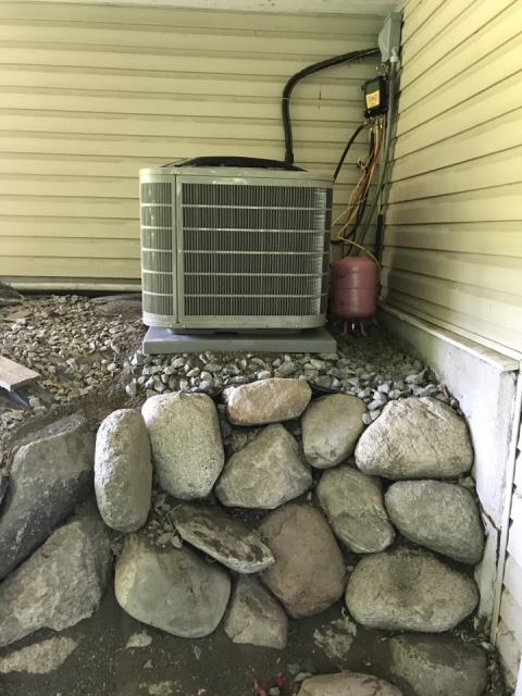 Maple Plain, MN - Installed a new AC with Hunter in Independence,MN