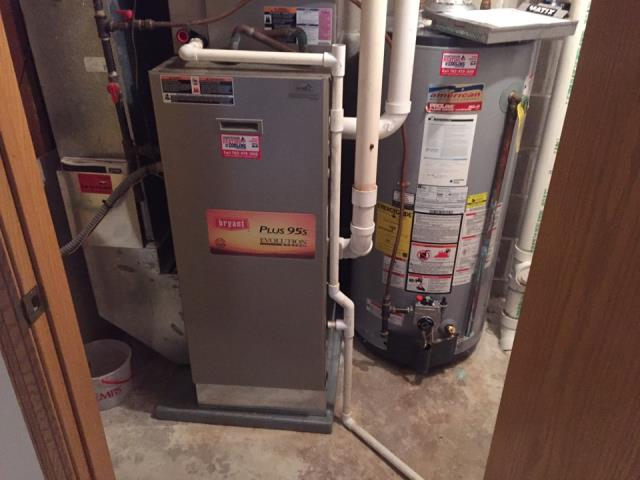 Long Lake, MN - Installed Bryant furnace and air conditioner in Orono, mn - will be coming back to install 2nd system later