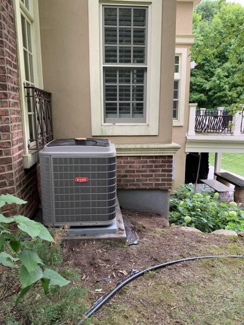 Maple Grove, MN - Installed ac in Maple Grove MN