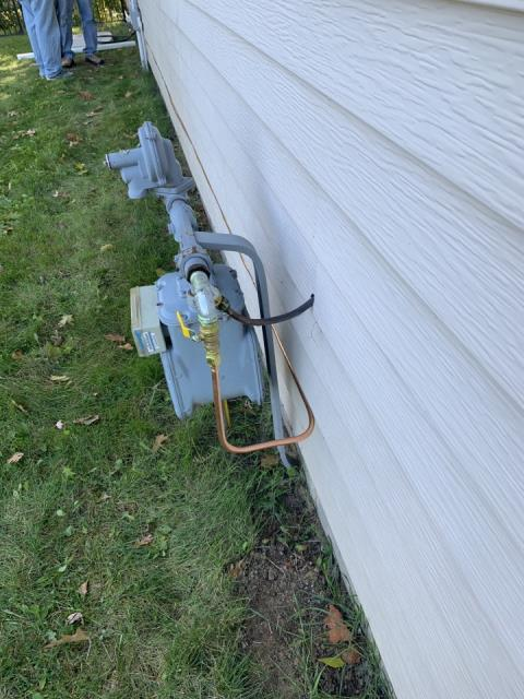 Excelsior, MN - installing gas lines for schwank heaters - will be returning
