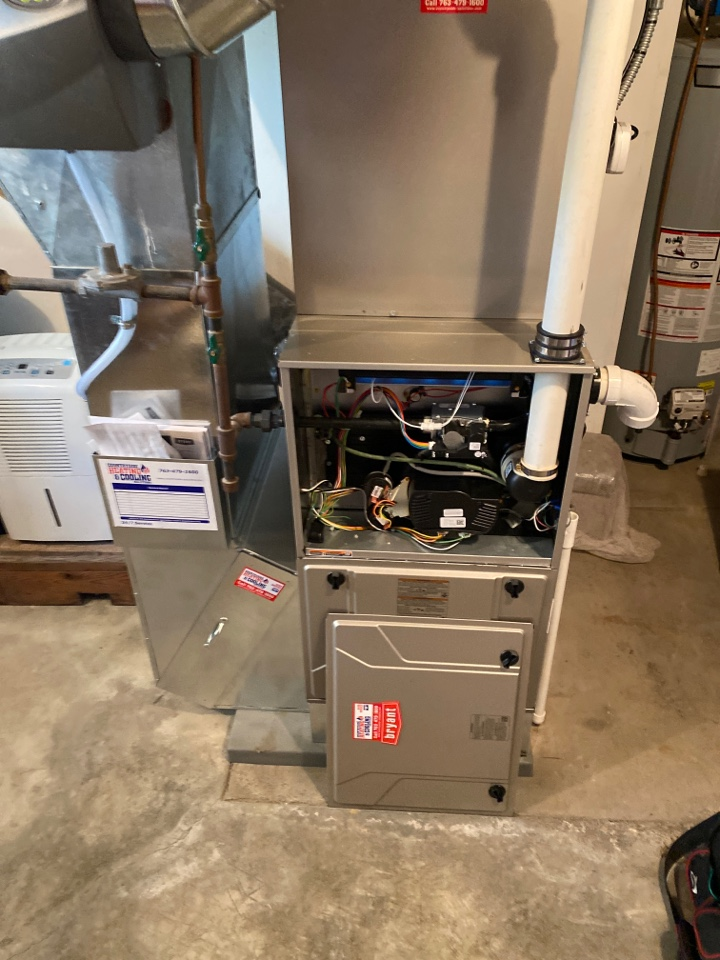 Dayton, MN - Bryant furnace service Dayton mn