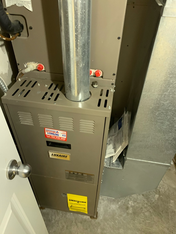 Watertown, MN - Furnace and AC inspection in Watertown Mn
