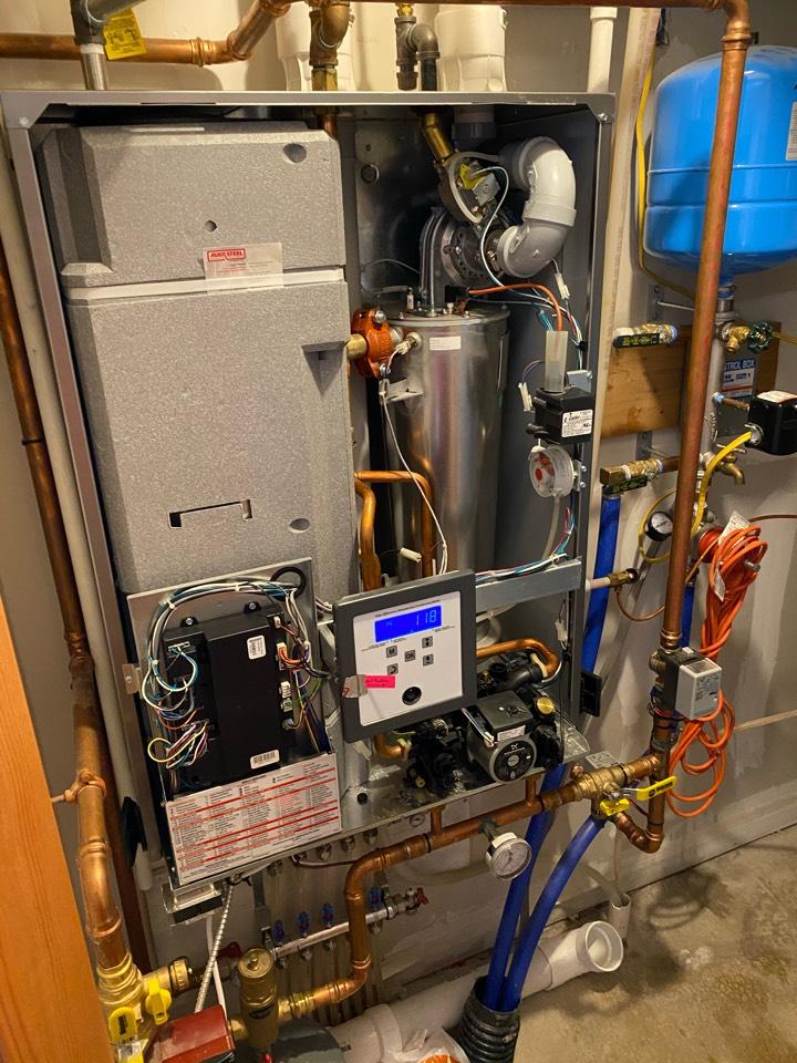 Menomonie, WI - boiler repair #