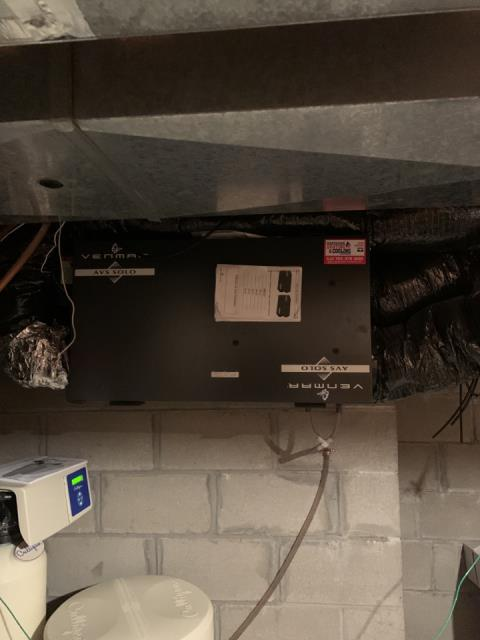Minneapolis, MN - Replaced air exchanger in Brooklyn Park MN