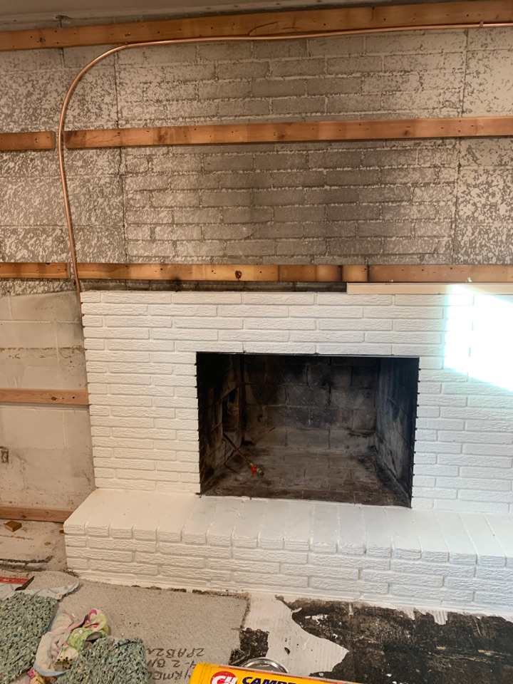 Minnetonka, MN - Install gas line to fireplace in Minnetonka MN