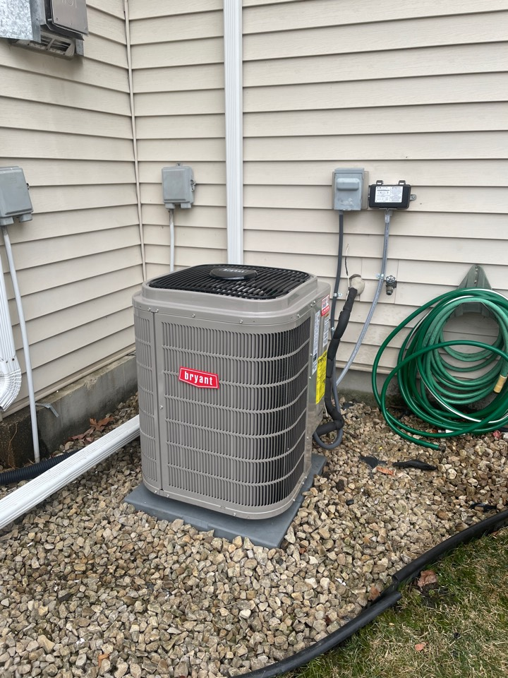 Mound, MN - Installed Bryant evolution furnace and a/c in mound Minnesota
