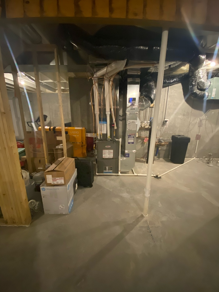 Plymouth, MN - Estimate for completion of duct work for lower level in Plymouth MN