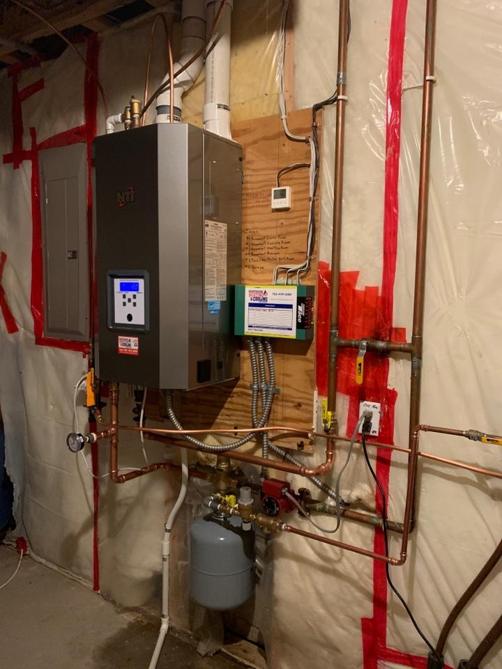 Medina, MN - Install new NTI boiler in Medina MN