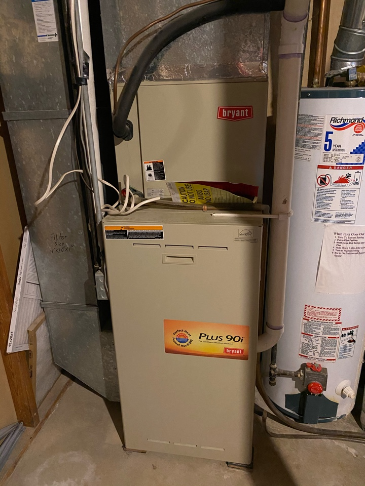 Furnace, air conditioning, and indoor air purification estimate in Mound MN