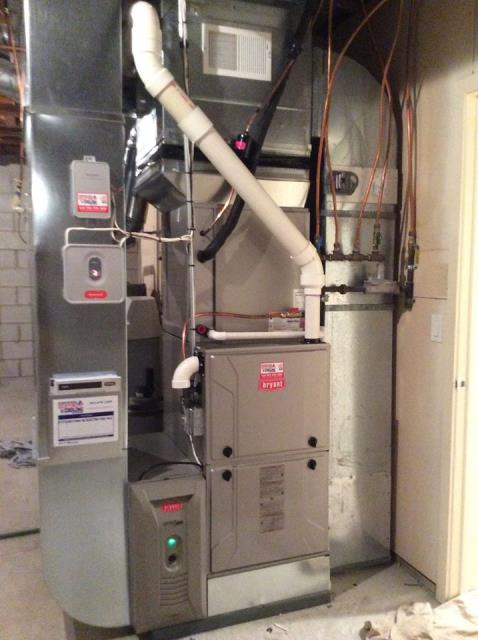 Minneapolis, MN - Bryant furnace install Plymouth MN #