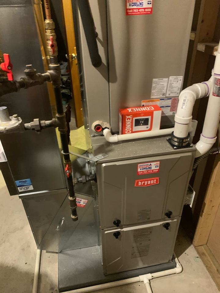 Delano, MN - Performed a furnace maintenance in Delano Mn