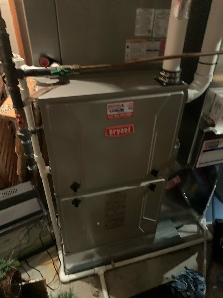 Chanhassen, MN - Performed a furnace maintenance in Chanhassen Mn