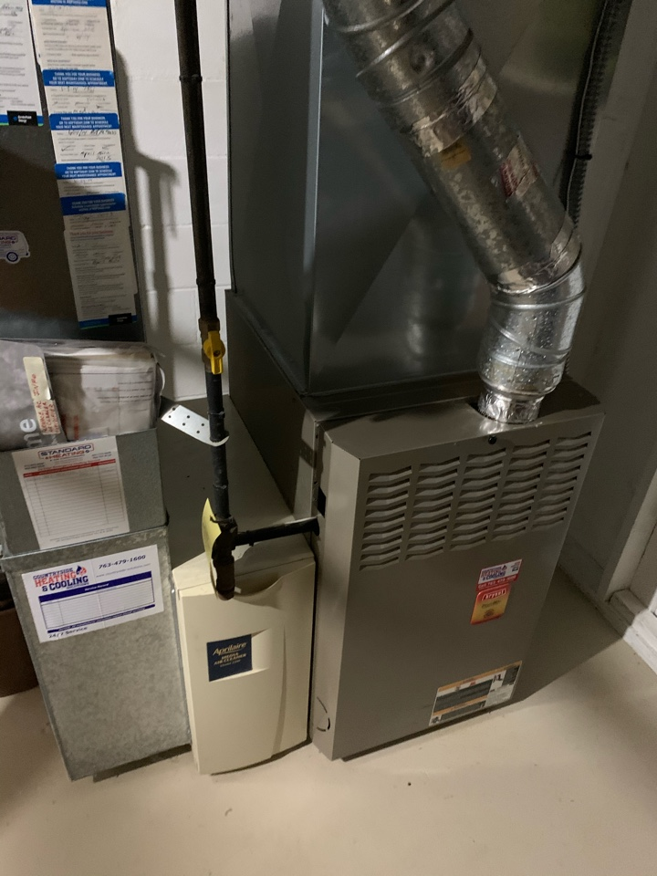 Plymouth, MN - Performed a furnace maintenance on a Bryant in Plymouth Mn