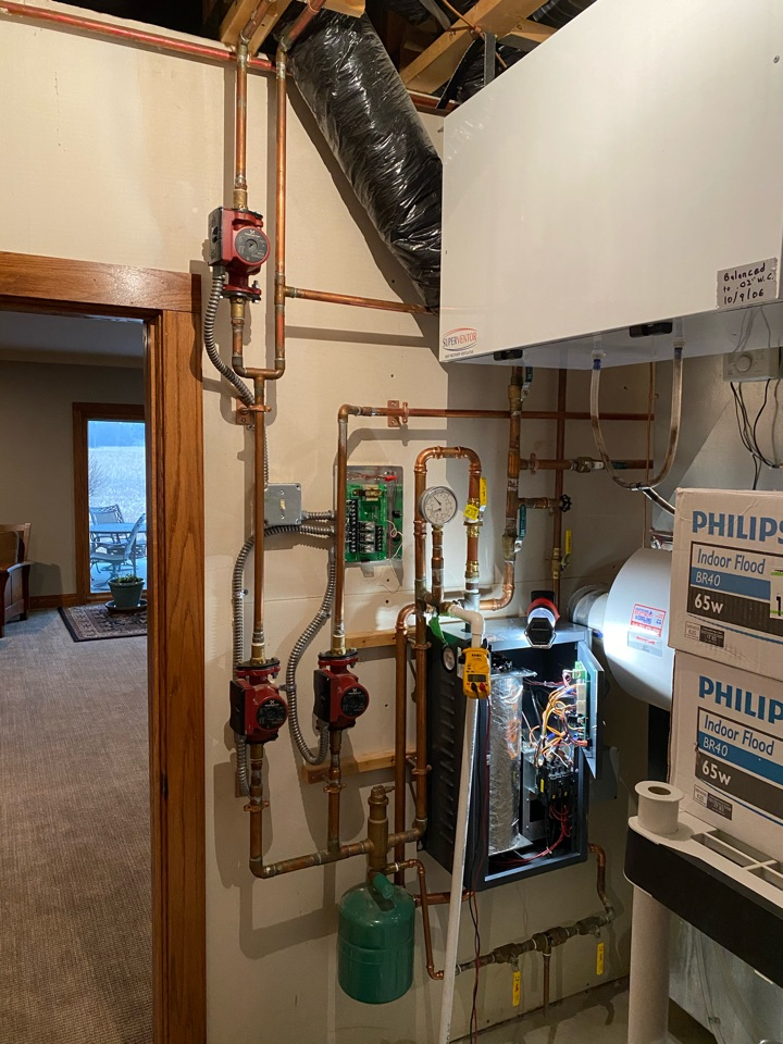 Independence, MN - Boiler repair independence mn - returning with parts