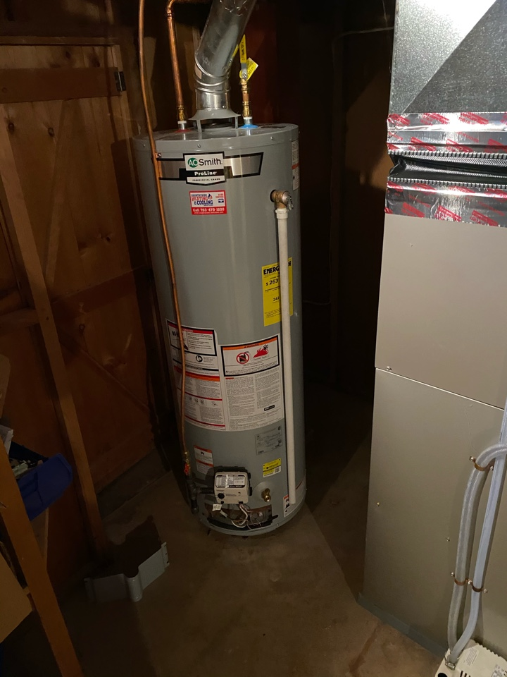 Minneapolis, MN - Water heater repair Brooklyn center mn - will be returning with parts