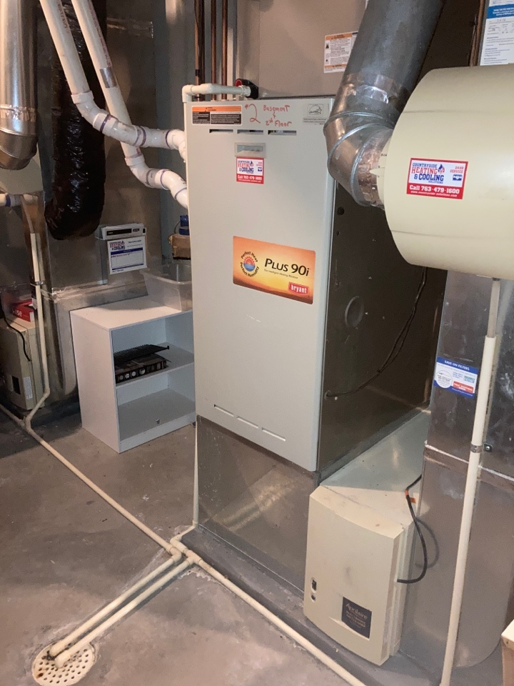 Eden Prairie, MN - Bryant furnace maintenance in Edina