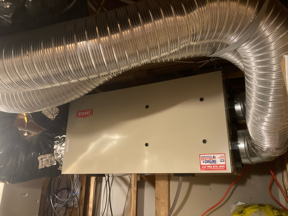 Plymouth, MN - Bryant air exchanger maintenance in Plymouth