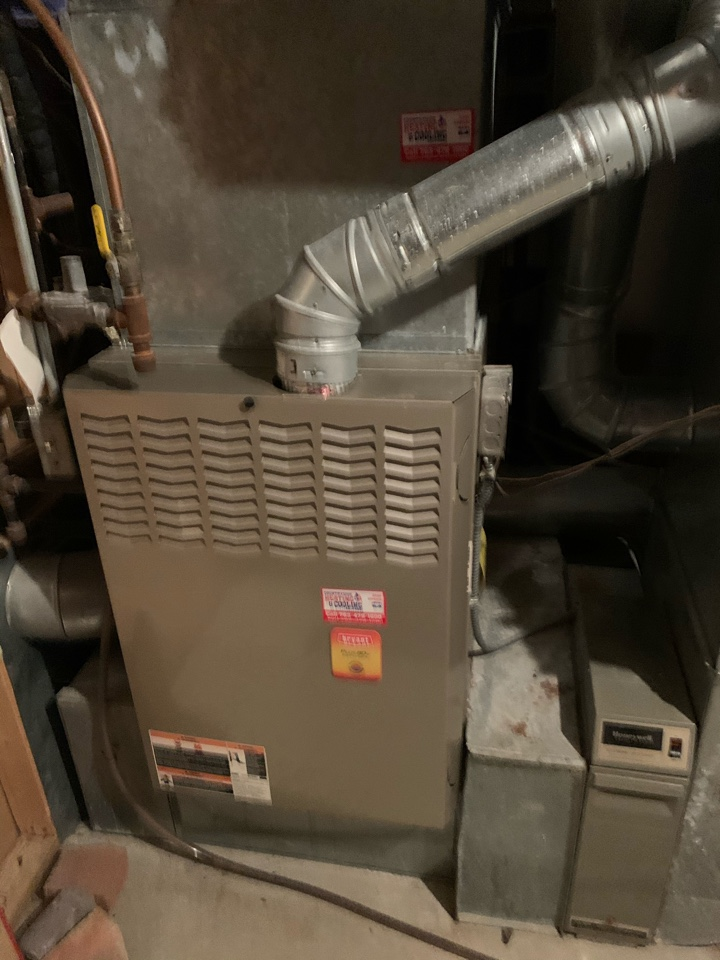 Long Lake, MN - Performed a furnace and humidifier maintenance in Medina Mn