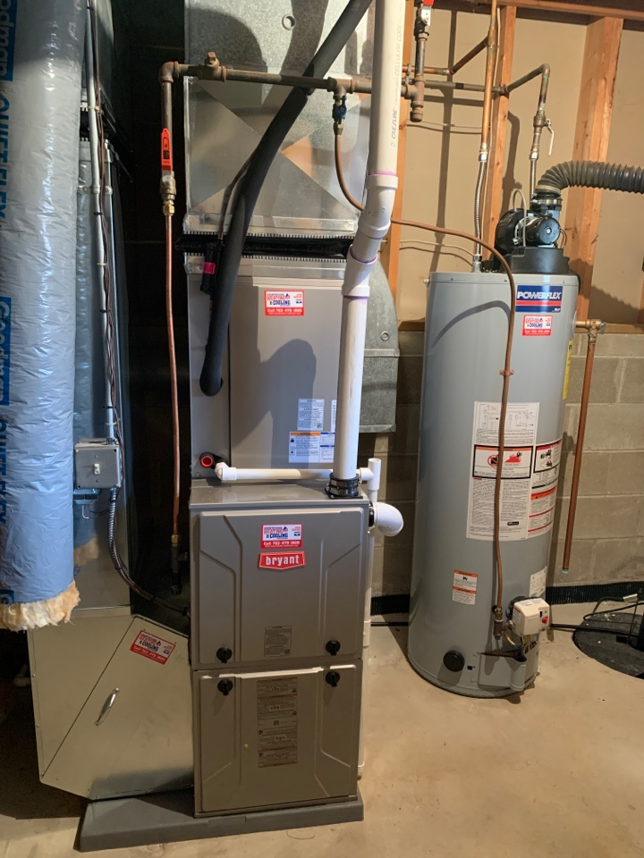 Waconia, MN - Install new Bryant evolution furnace and air conditioner with connex thermostat in waconia MN