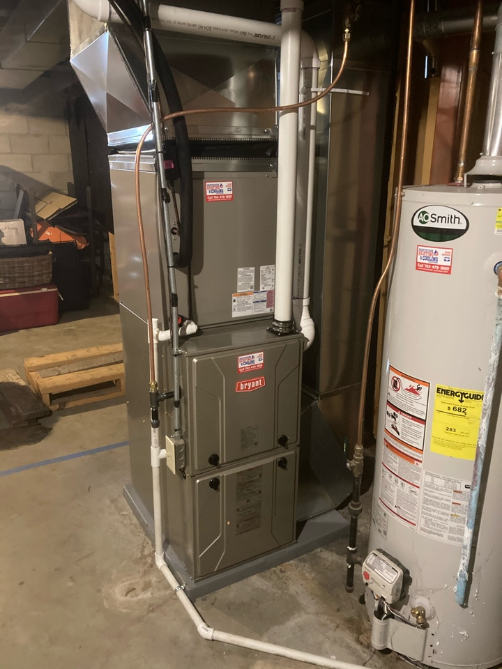 Watertown, MN - Bryant furnace and AC installation in Watertown