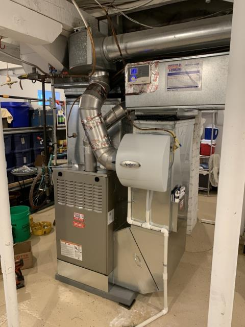 Rogers, MN - Performed a furnace maintenance in Rogers Mn