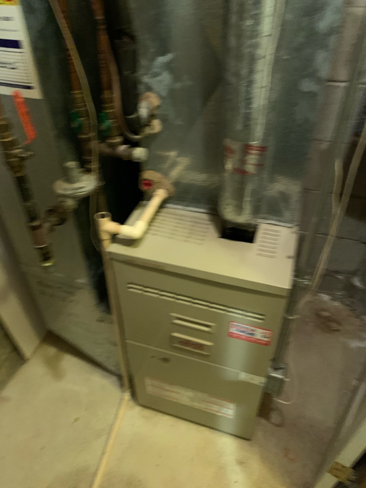 Delano, MN - Performed a furnace maintenance and repair in Delano Mn