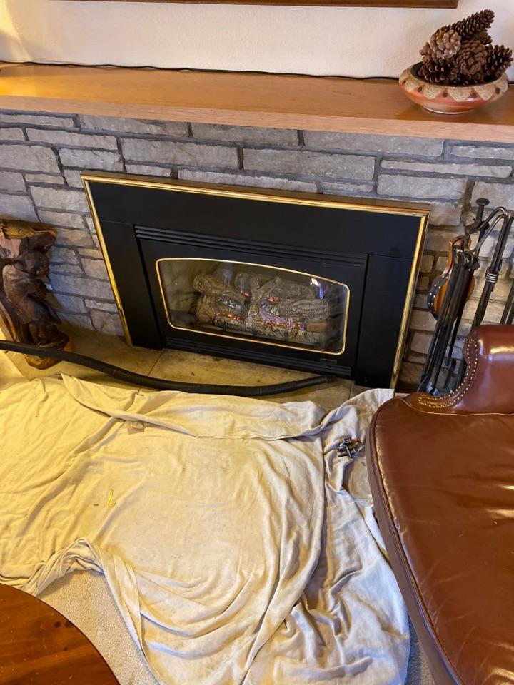 Hopkins, MN - Fireplace repair Minnetonka mn