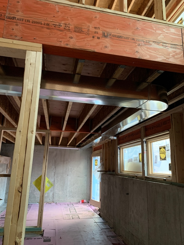 Excelsior, MN - Install ductwork for remodel in glen wood MN