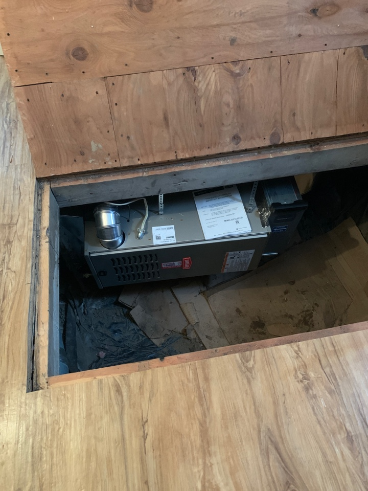 Buffalo, MN - Install new Bryant furnace in Buffalo MN
