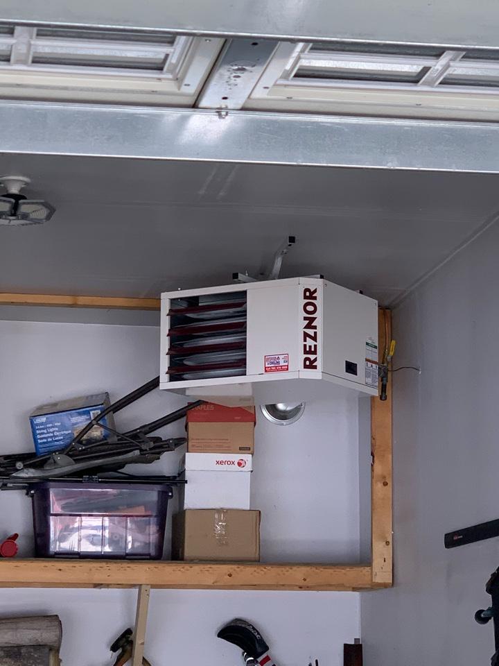 Maple Grove, MN - Garage heater check in maple grove Mn