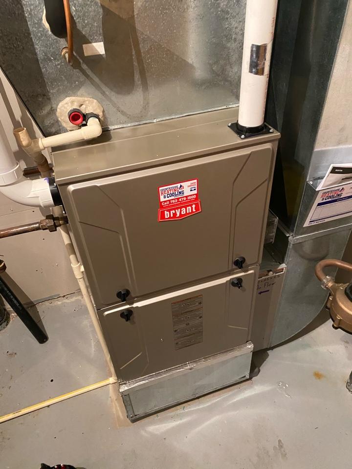 Minnetonka, MN - Bryant furnace service Minnetonka mn