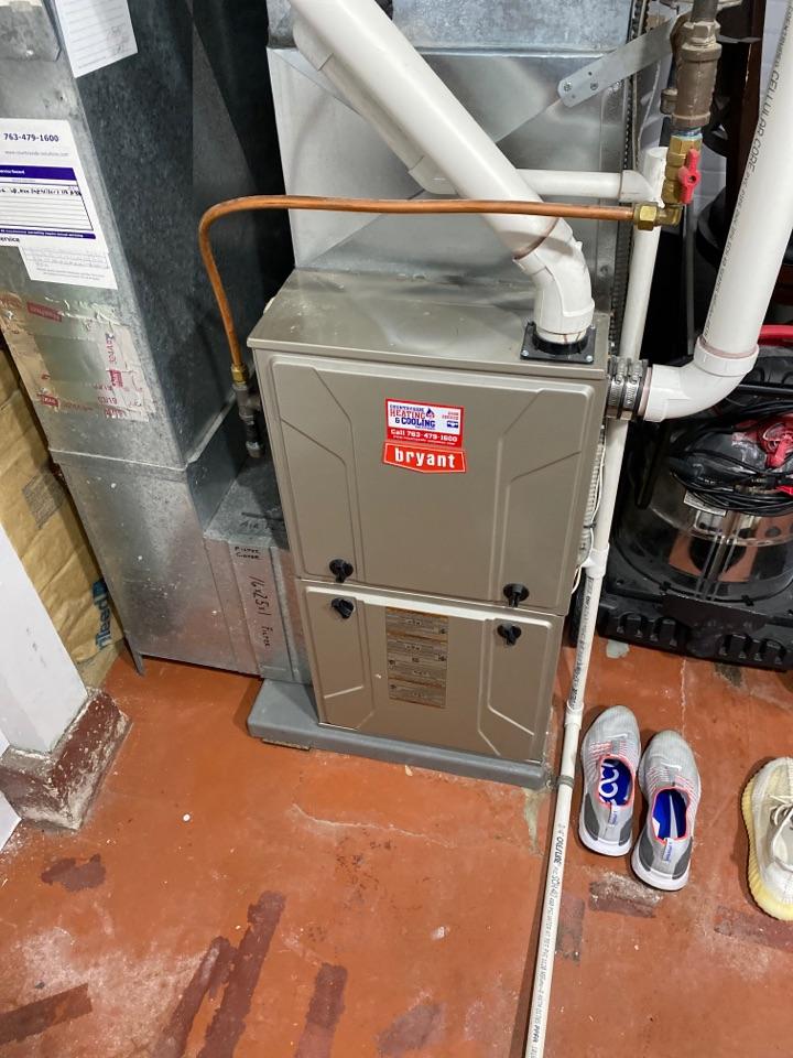 Minneapolis, MN - Bryant furnace service St. Louis park mn