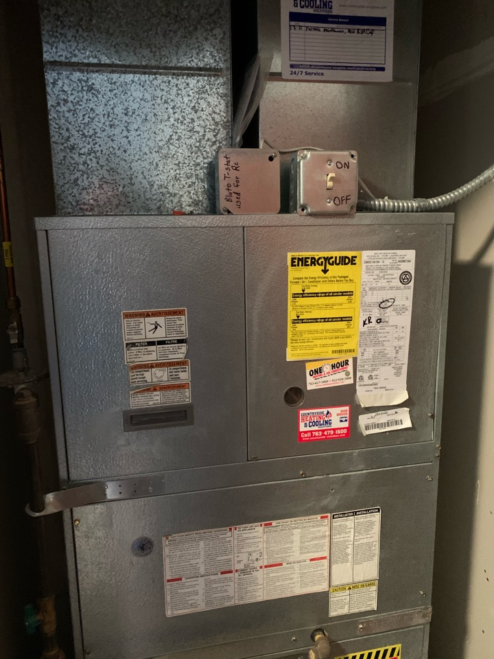 Minneapolis, MN - Performed a furnace maintenance in St. Louis park Mn