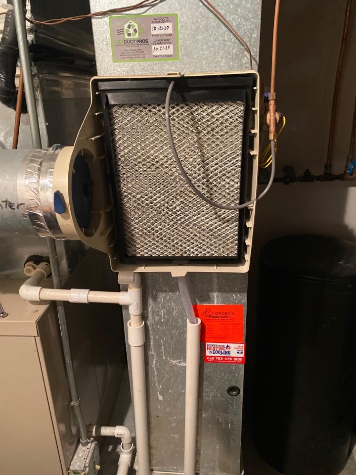 Chanhassen, MN - Humidifier repair Chanhassen mn