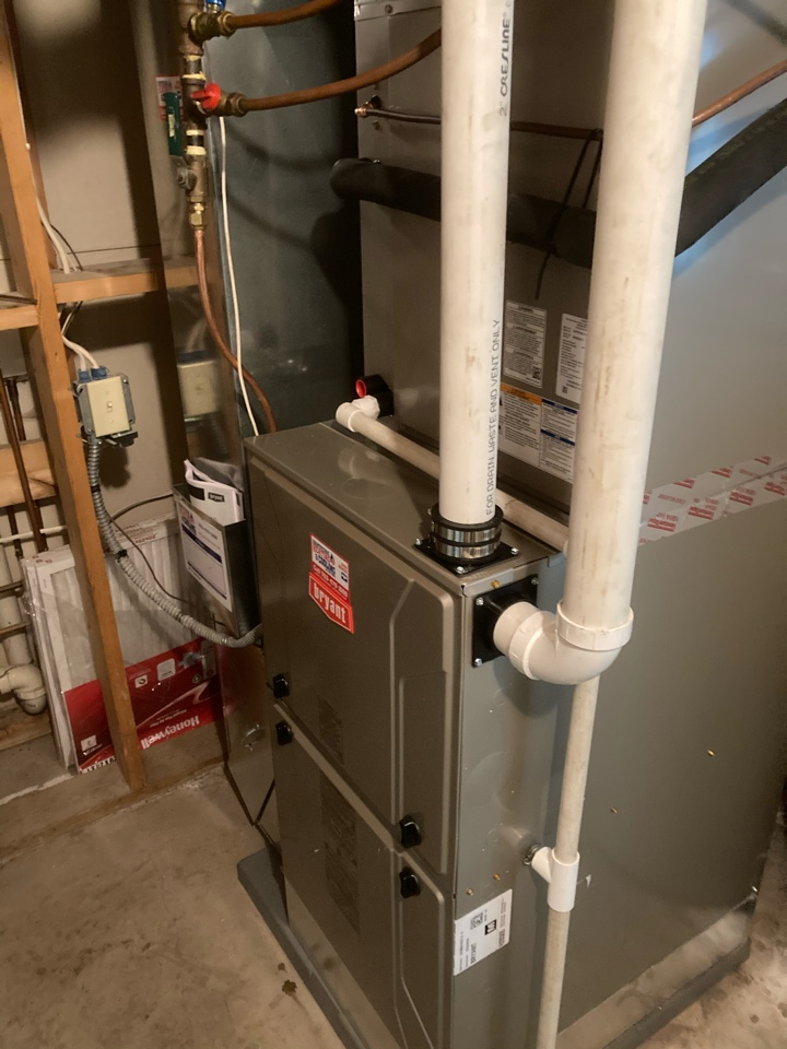 Rockford, MN - Installed a Bryant Evolution furnace in Greenfield