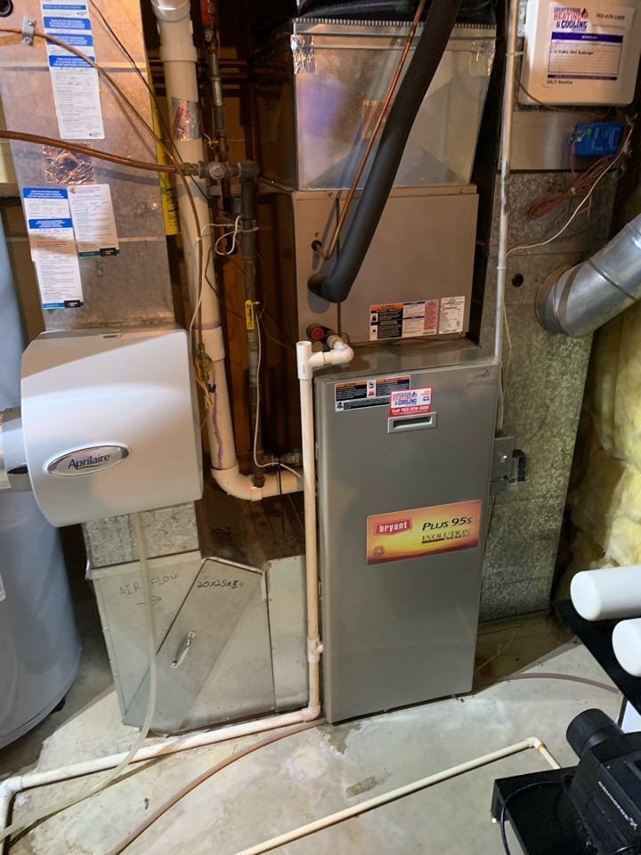 Excelsior, MN - Furnace repair on a Bryant in excelsior Mn