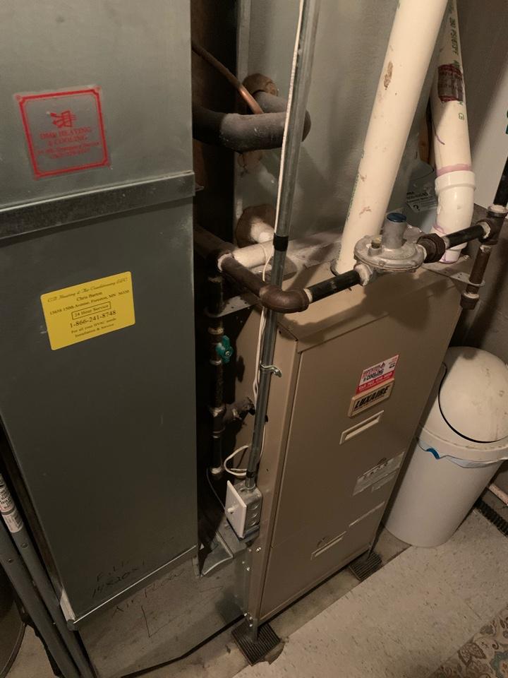 Annandale, MN - Furnace repair in Annandale Mn