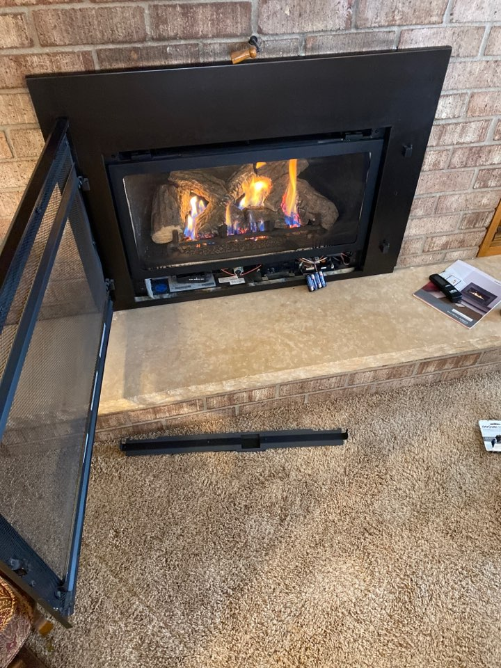 Fireplace repair eagerly mn