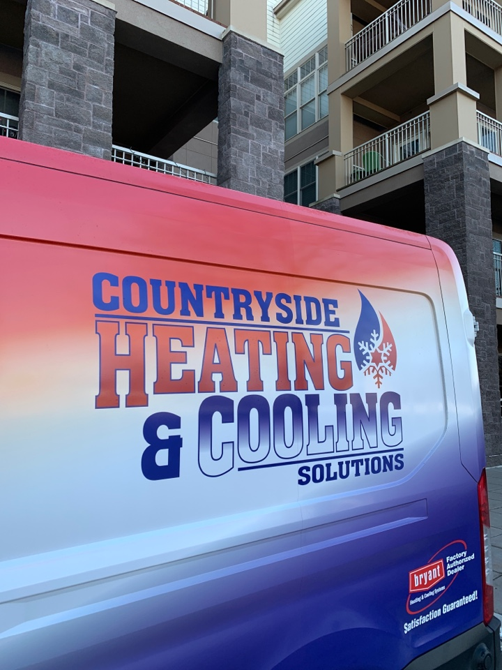 Bloomington, MN - Performed a furnace maintenance in Bloomington Mn