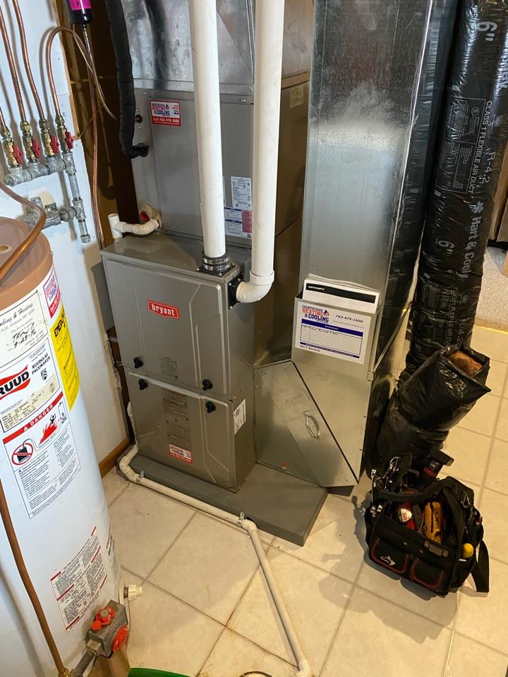 Bryant furnace repair Hastings mn