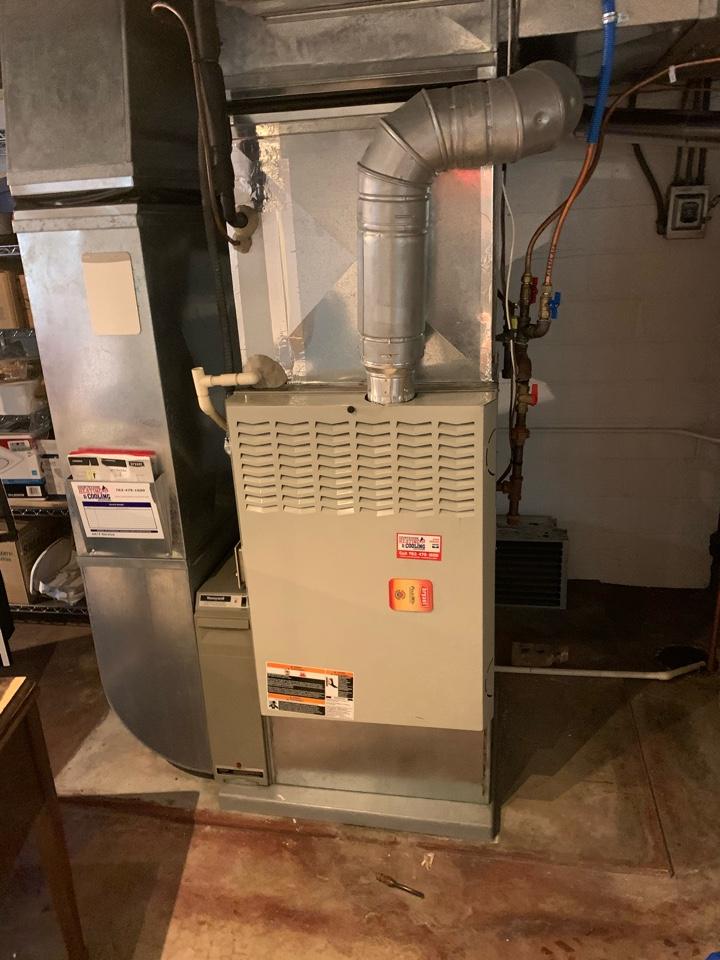 Chanhassen, MN - Installed new inducer motor in Chanhassen Mn